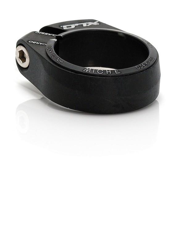 Collier serrage tige selle XLC pour tige carbone 32 mm Noir