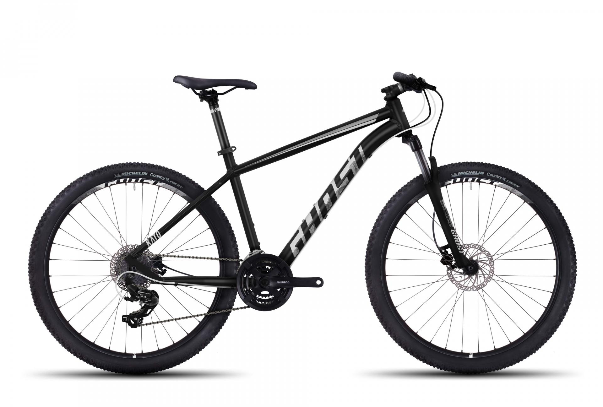 VTT semi-rigide Ghost Kato 1 27.5 noir/blanc - XXS