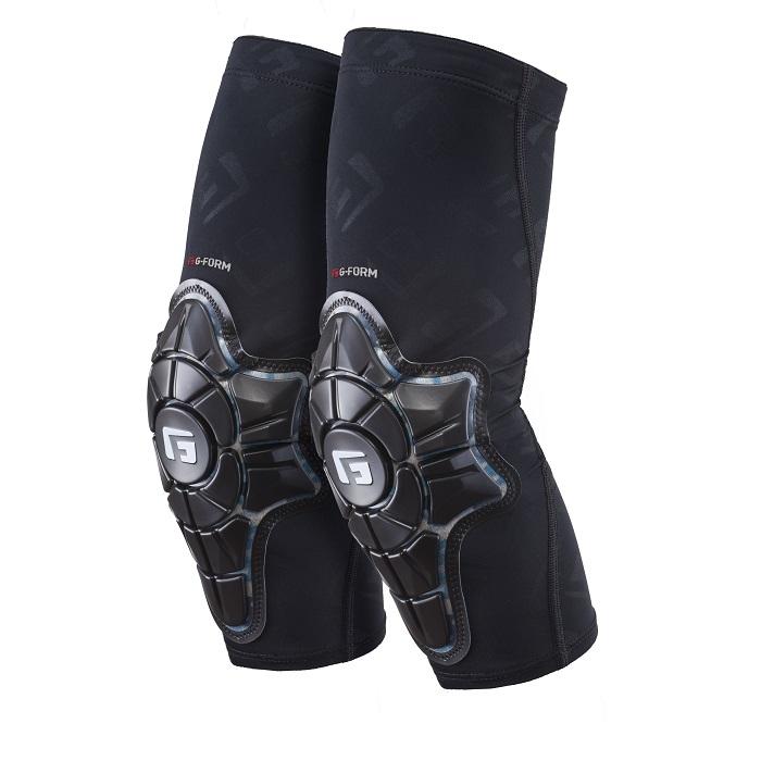 Coudières G-Form Pro-X Noir/Teal Camo - XS