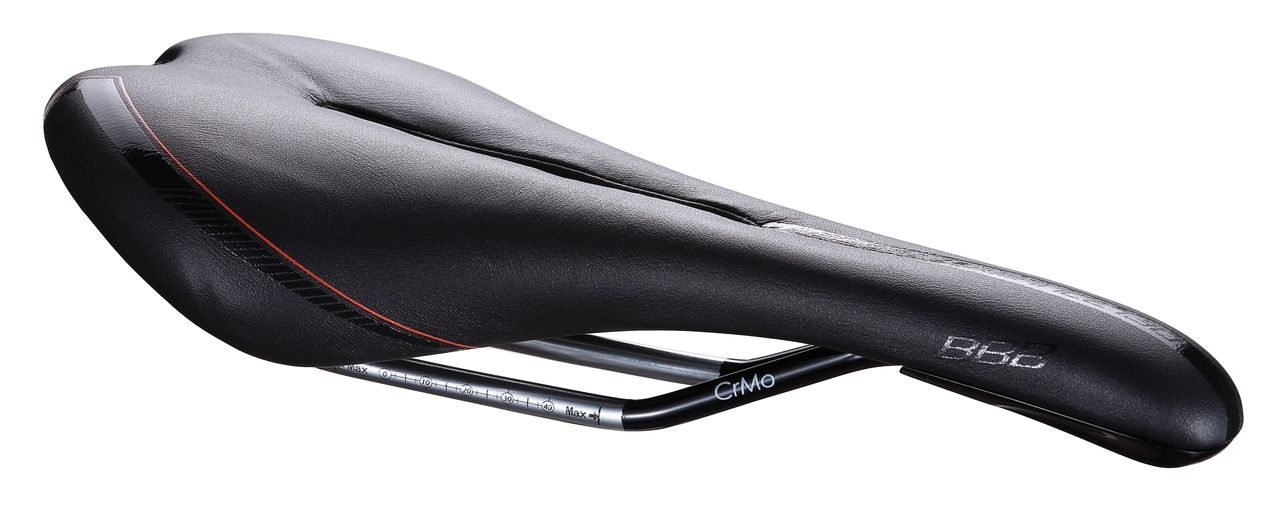 Selle Gel anatomic BBB Razer CrMo 130 mm (noir) - BSD-62G