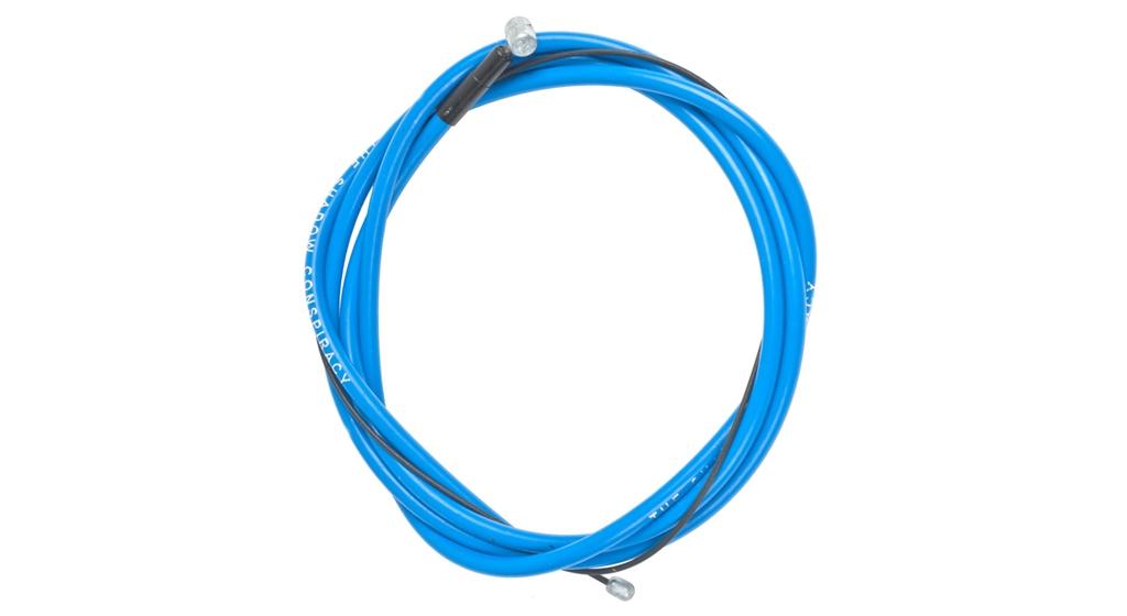 Câble + gaine de frein BMX TSC Linear Bleu