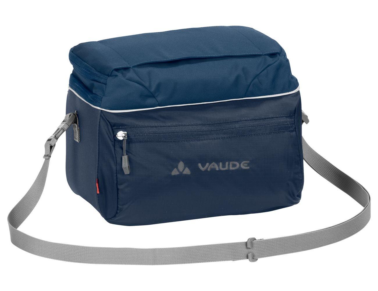 Sacoche de guidon Vaude Road II 8 L + support KLICKfix Bleu Marine
