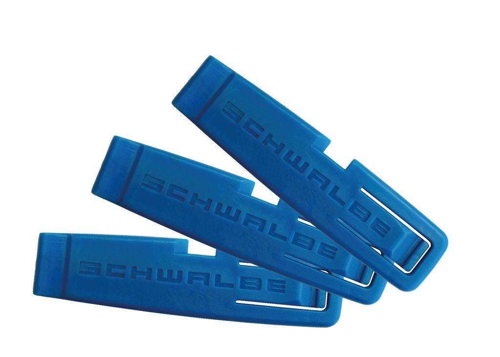 Jeu de 3 démonte-pneus Schwalbe 1847 Bleu