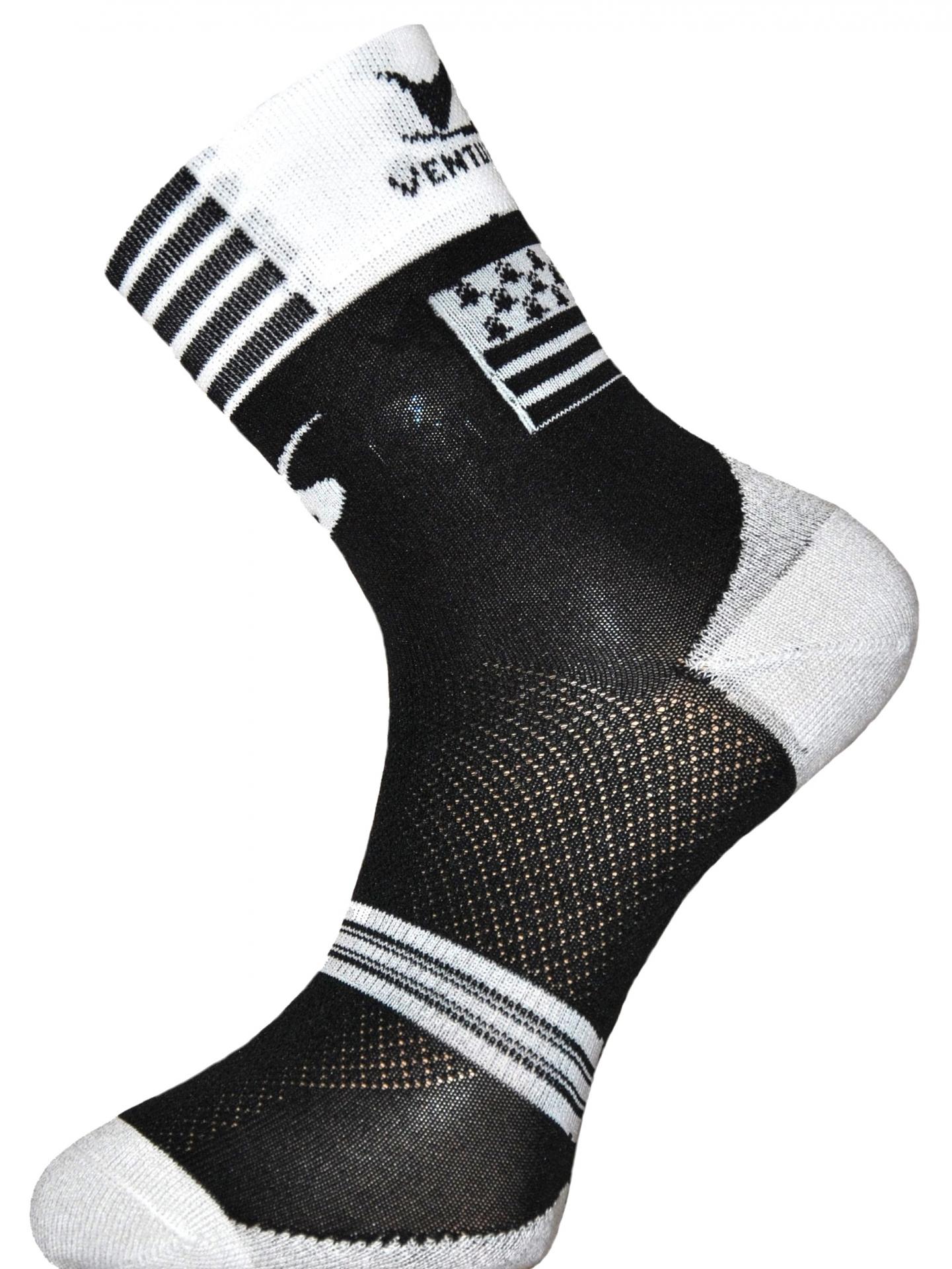 Chaussettes Ventura Socks Carbone Région Bretagne - 35/38