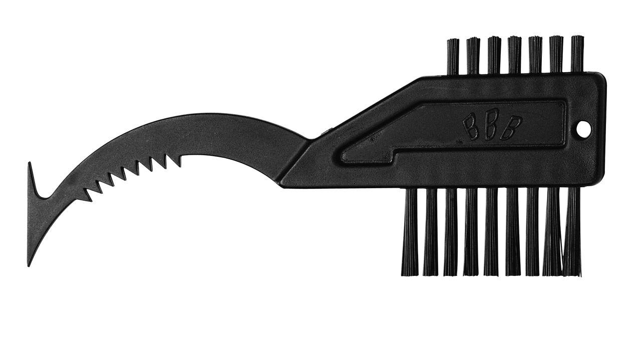 Brosse BBB ToothBrush pour nettoyer les cassettes (noir) - BTL-17