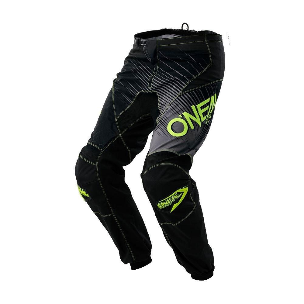 Pantalon O'Neal Element Racewear Noir/Jaune Hi-viz - 38