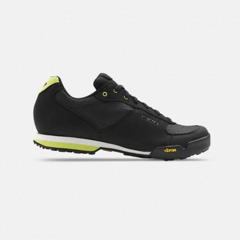 Chaussures VTT Femme Giro Petra VR Noir/Jaune - 38