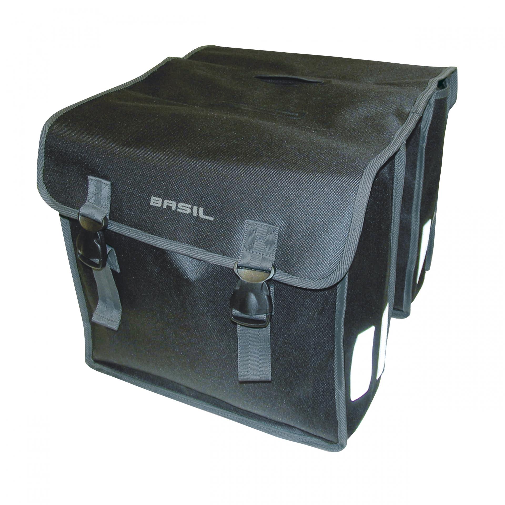 Sacoche arrière double BASIL Mara XL 35 L Noir