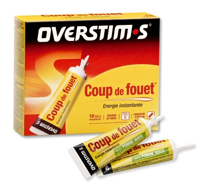 Coup De Fouet Overstims (10 tubes) - Fruits rouges