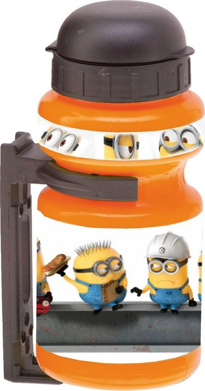 Bidon vélo enfant Minion 300 ml Orange