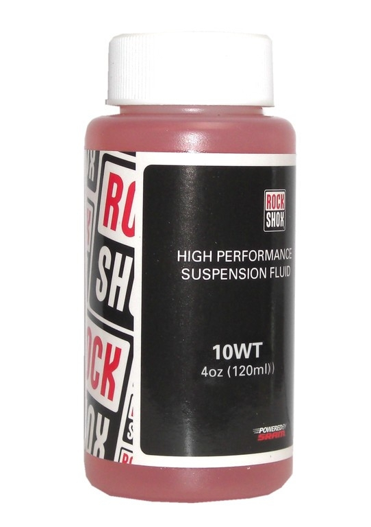 Huile fourche RockShox Pitstop Oil 10 WT (120 ml)