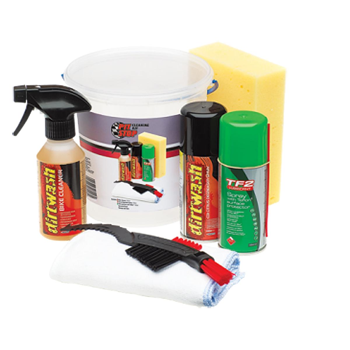 Kit Cleaning seau de nettoyage/ brosse / lubrifiant / dégraissant