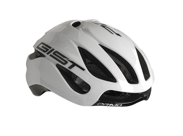 Casque Vélo GIST Primo Primo Blanc/Noir - 52-57 cm