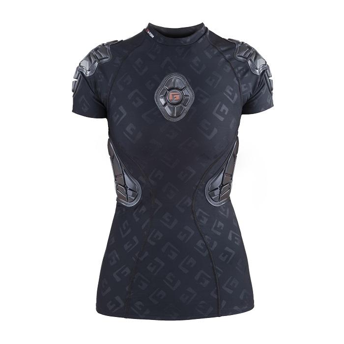 Tee-shirt de protection G-Form Pro-X Femme Noir Logo - S