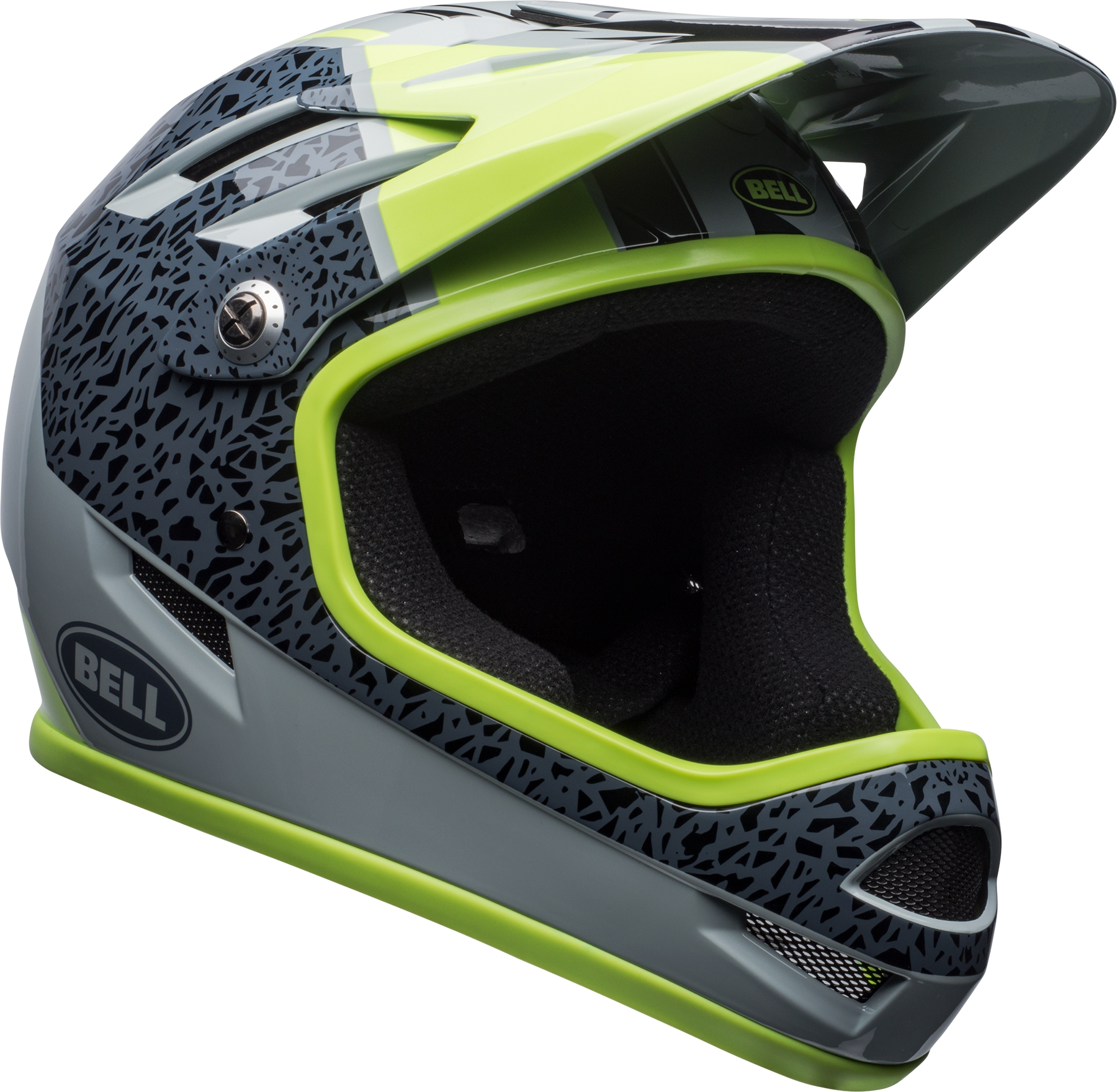 Casque Bell SANCTION Gris Smoke/Pear - S / 52-56 cm