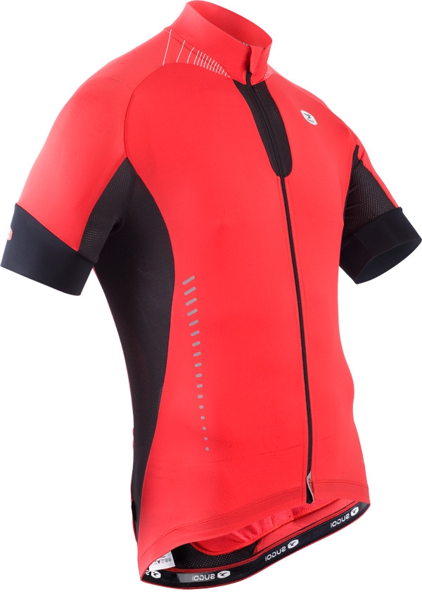 Maillot Sugoi RS Ice Manches Courtes Rouge - S