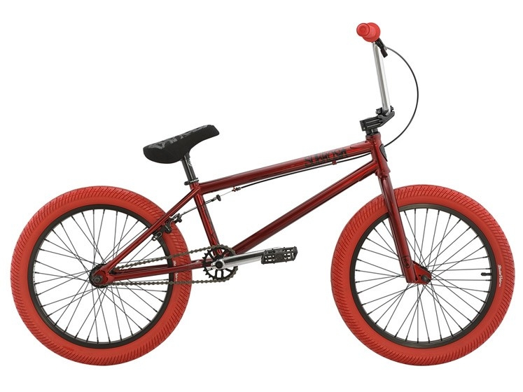 BMX Subrosa Tiro Gloss Red / Red (TT : 20,5'') 2016