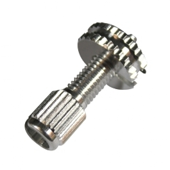 Vis creuse tension câble M7 fendue (unité)