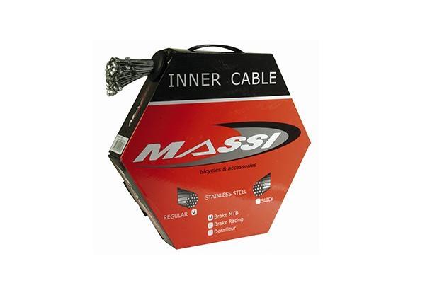 Câble de frein VTT Massi 1.5x1700 mm acier inoxydable (x50)