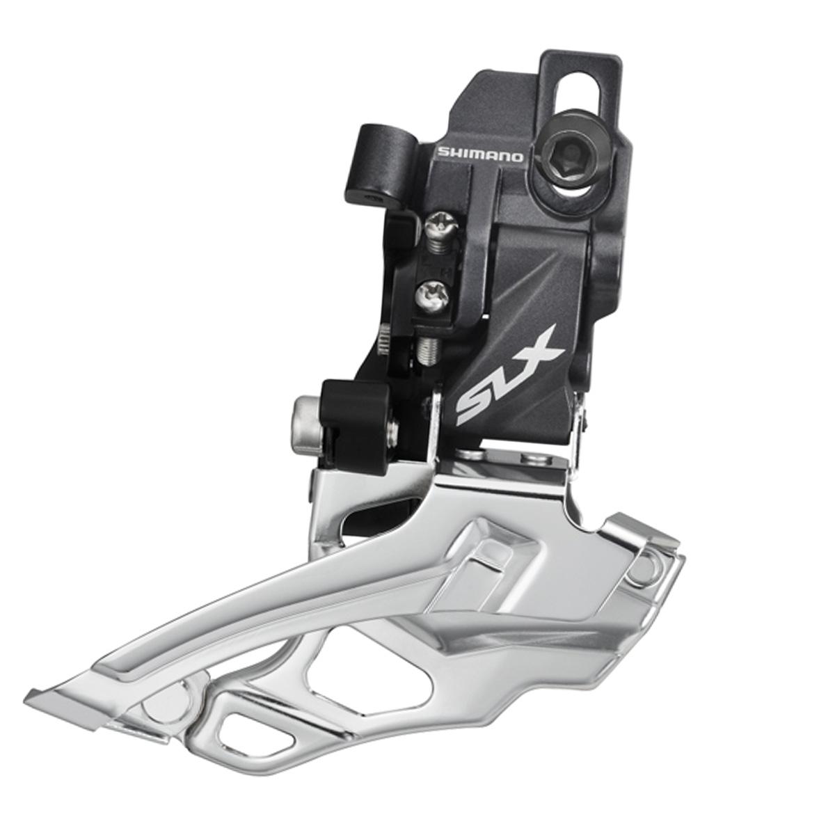 Dérailleur avant VTT Shimano SLX 10V Double Direct Mount Tirage Haut / Bas