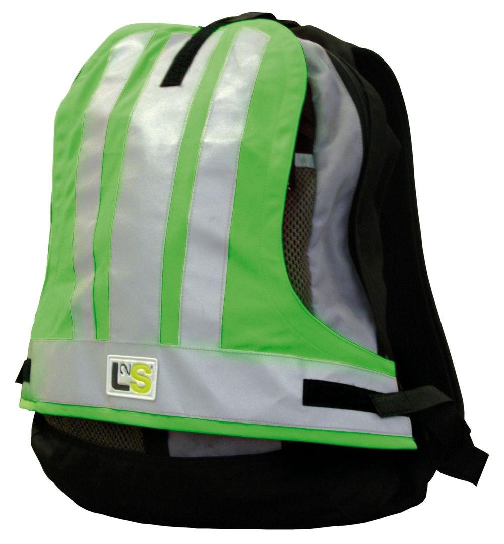 Couvre-sac sécurité L2S Visiobag Vert fluorescent
