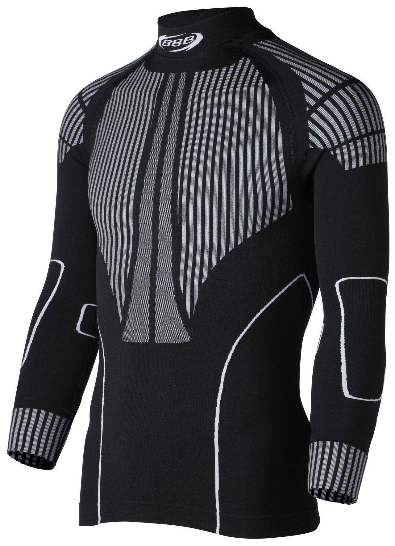 Sous-vêtement hiver BBB ThermoLayer homme (noir) manches longues - BUW-12 - XS/S