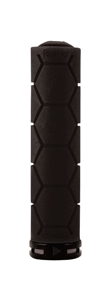 Poignées Fabric Silicon Lock On Grips Noir