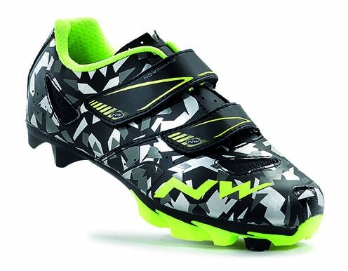 Chaussures Northwave Hammer Junior Camo/Jaune fluo - 32