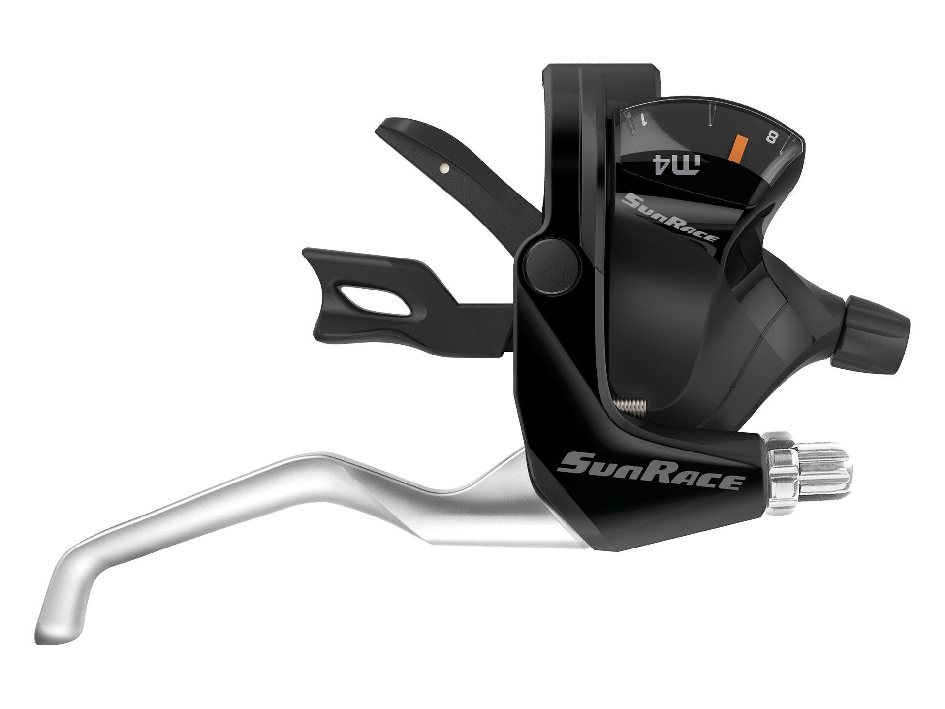 Levier de frein / Manette SunRace STM400 7x3 vitesses Noir (La paire)