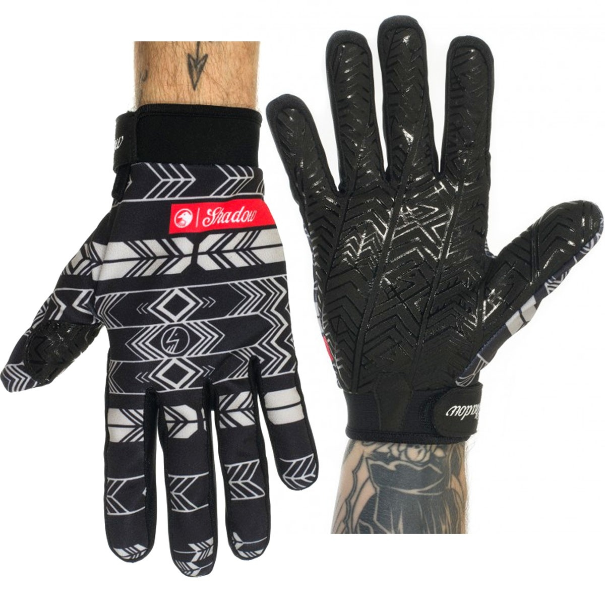 Gants longs TSC Conspire Noir Feather - XS