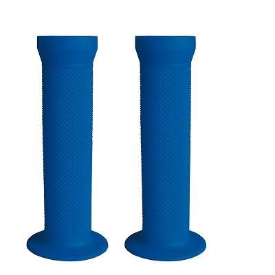 Poignées BMX / Fixie 130 mm Bleu