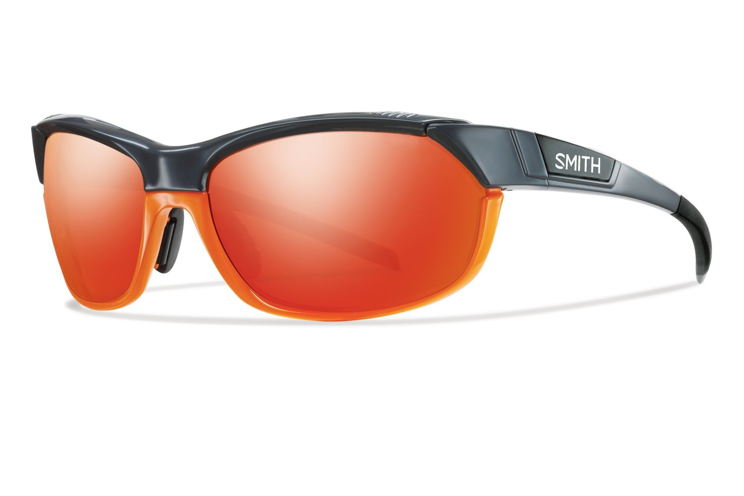 Lunettes Smith Optics PivLock Overdrive Gris Orange/Rouge Sol-X