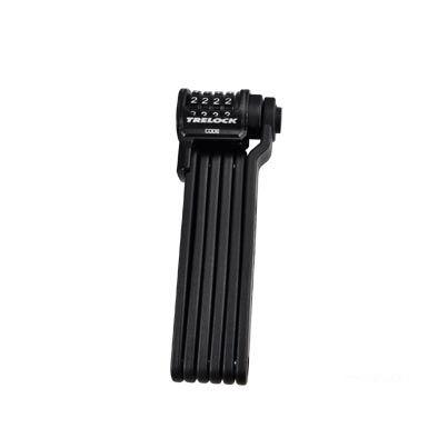 Antivol pliable Trelock Trigo Kombi FS300/85 à code avec support Noir