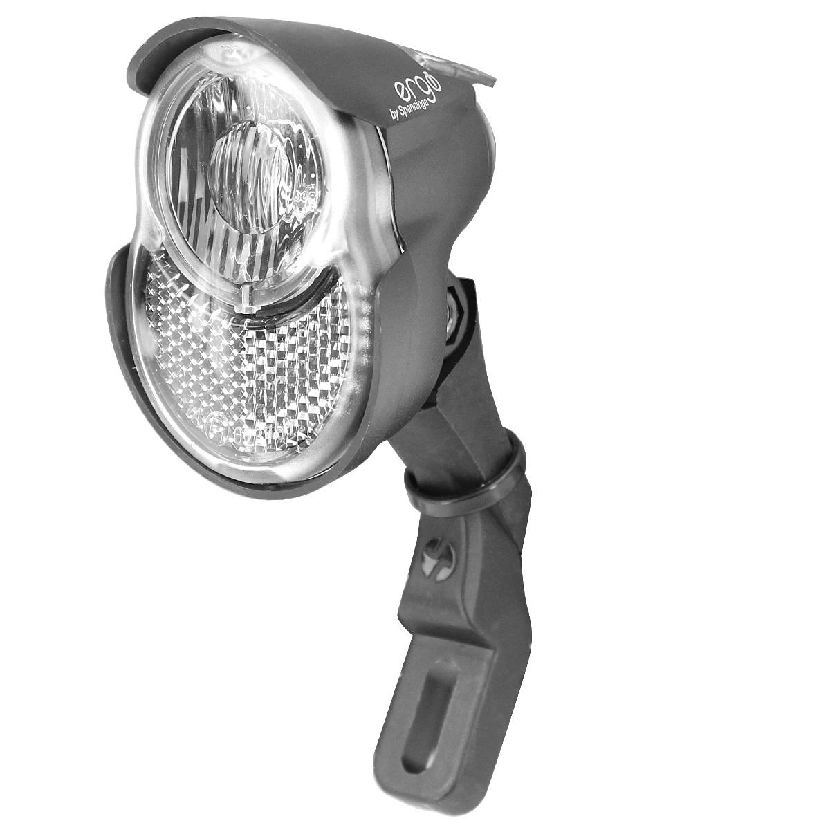Éclairage avant Spanninga Ergo Xda 1 LED / 20 Lux (Dynamo et moyeu dynamo)