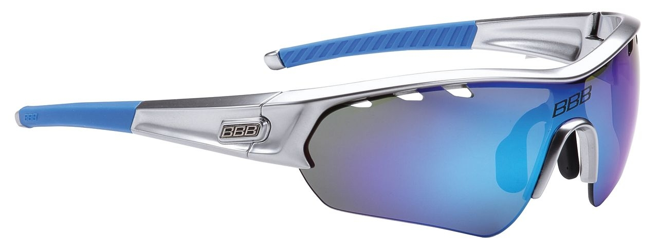Lunettes BBB Select Special Edition verre Revo (chrome/bleu) - BSG-43SE