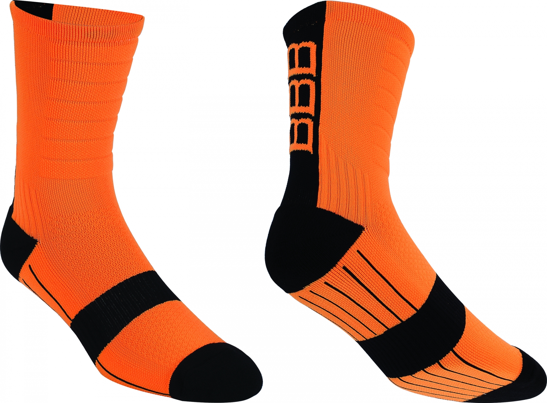 Socquettes VTT BBB MountainFeet Orange - BSO-09 - 39-43