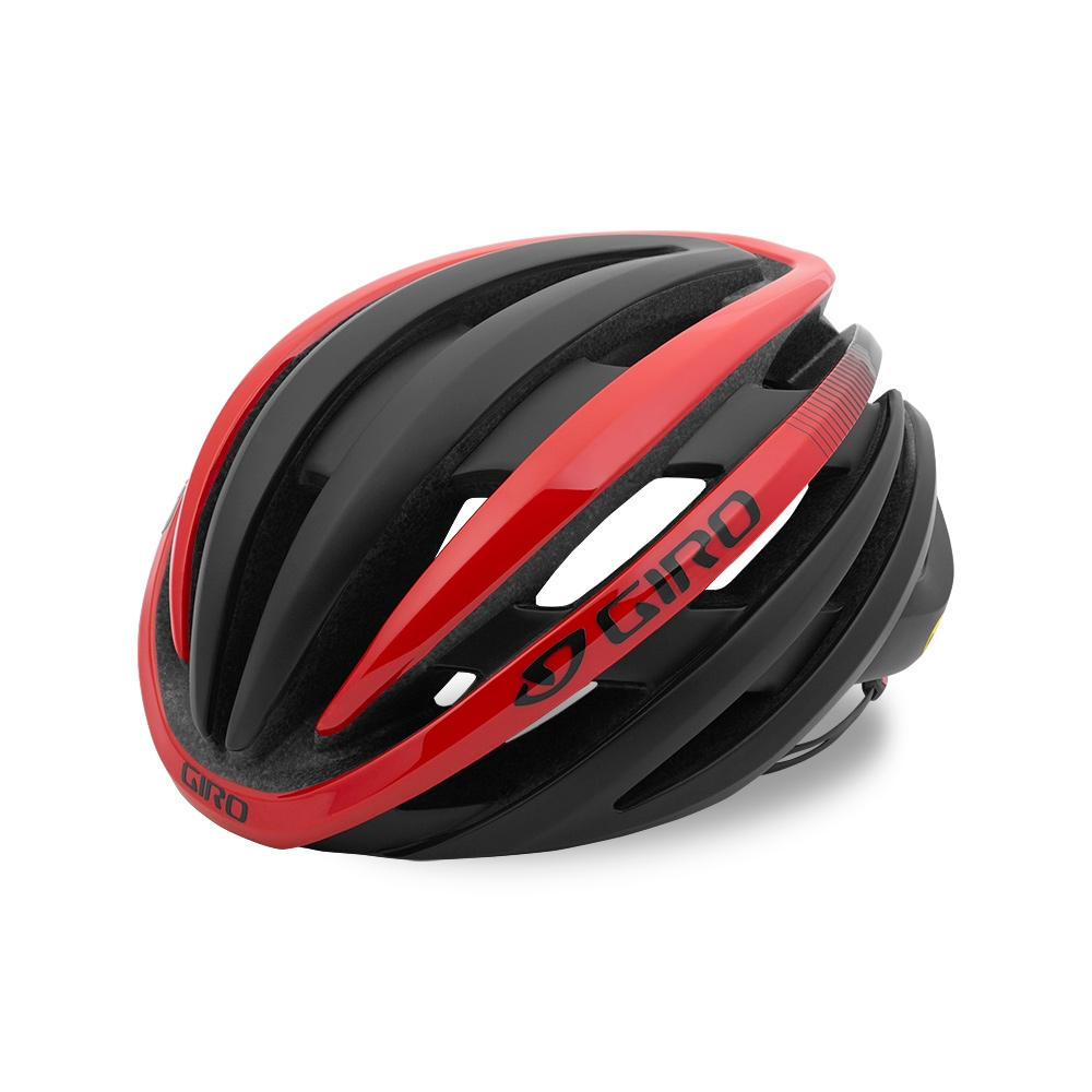 Casque Giro CINDER Noir mat/Rouge Bright - M / 55-59 cm