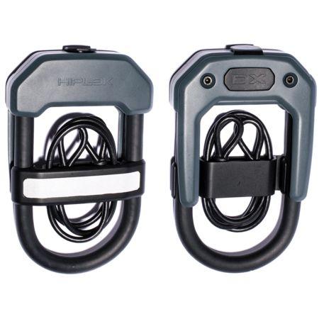Antivol en U HipLok DXC + Câble 1 m Gris