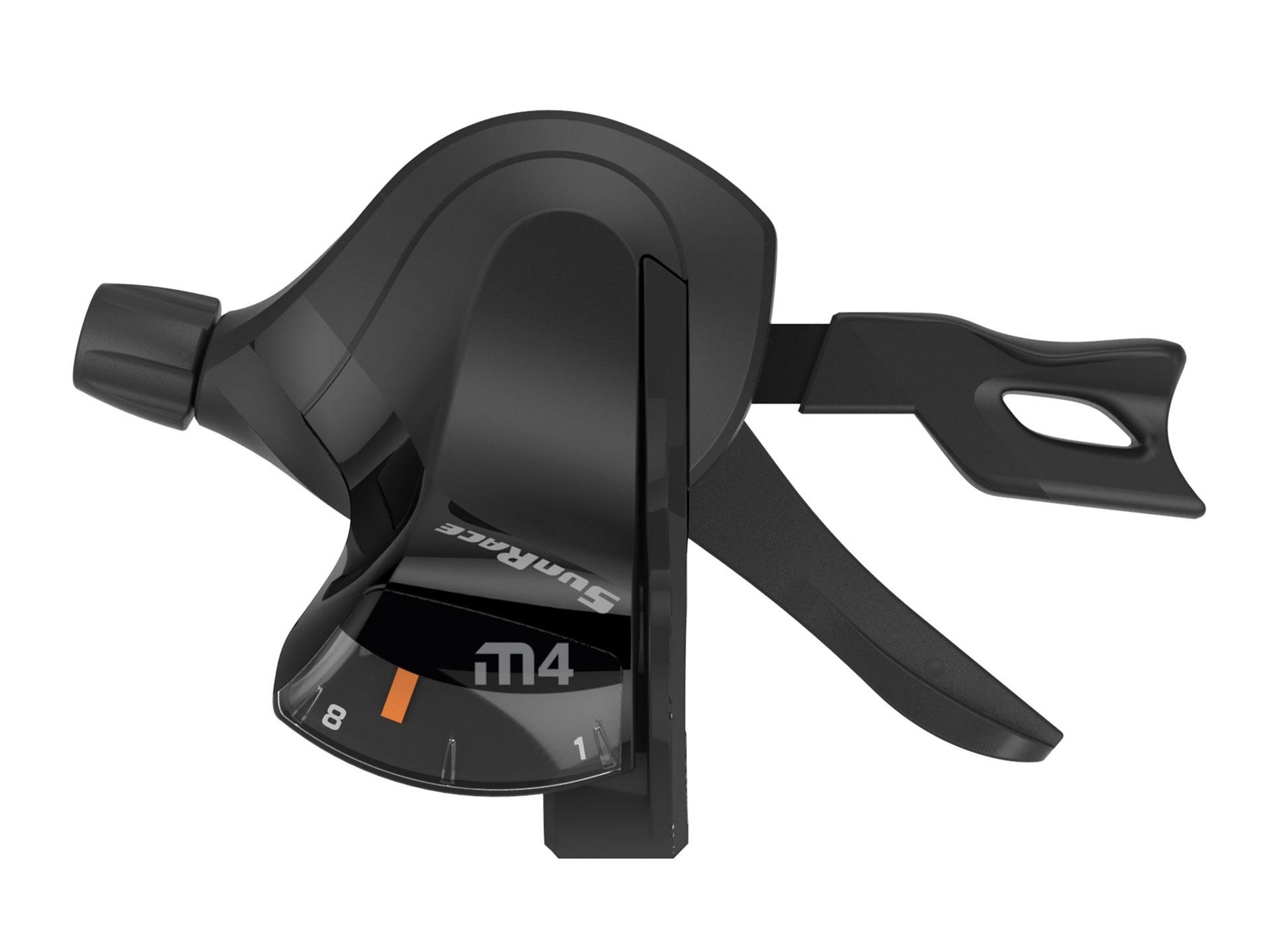 Manette Trigger SunRace DLM400 3 vitesses Gauche Noir
