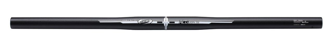 Cintre droit VTT BBB TopBar 25,4 L.580 mm (noir) - BHB-04