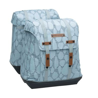 Sacoche New Looxs Alba Porte-bagages À Pont 2 Volumes 34 L Vert