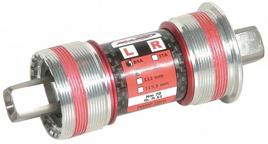 Boîtier de pédalier Massi CM-BB87 68x102 mm Carré BSA