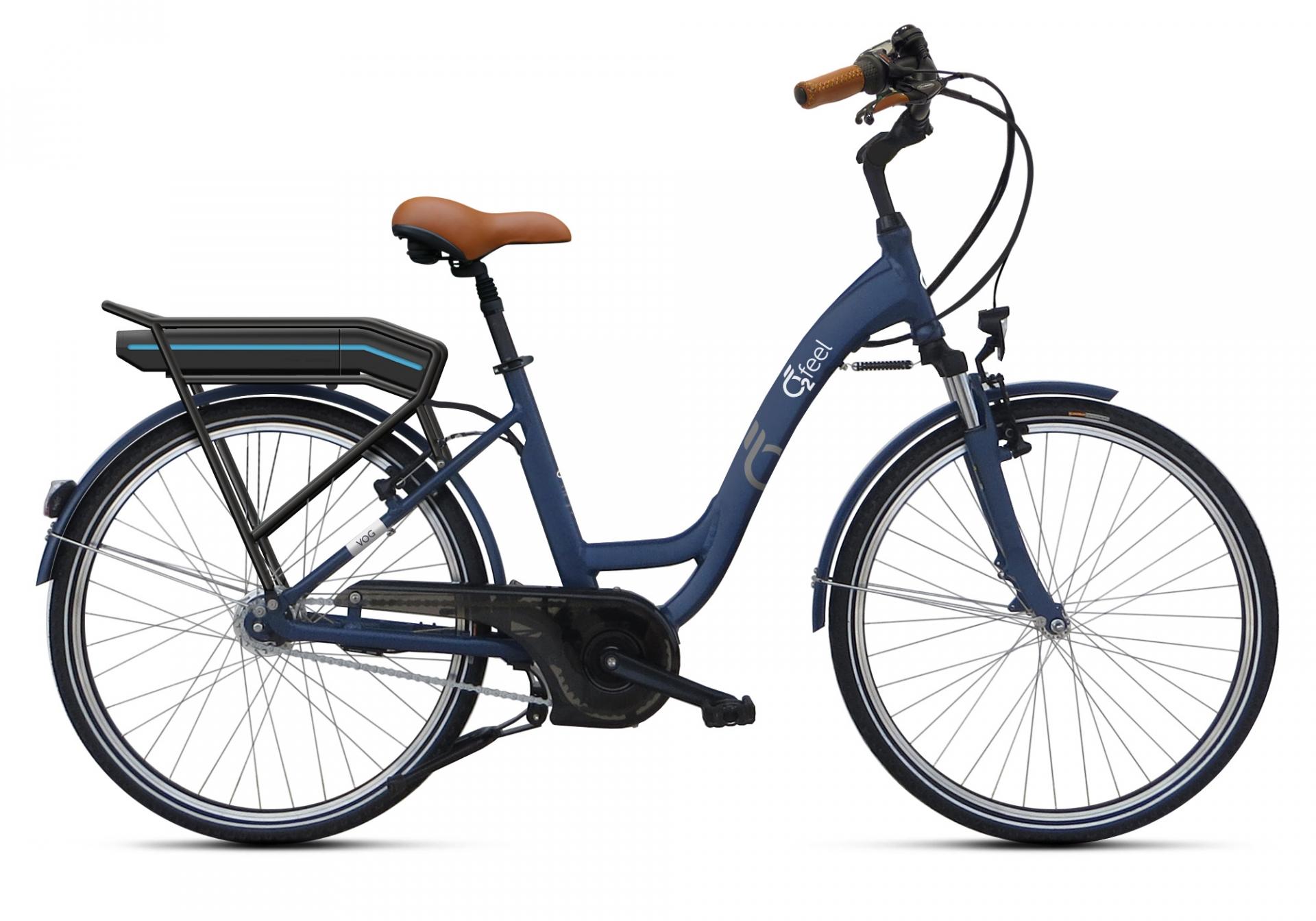 Vélo électrique O2Feel Vog N7C OES 28 374 Wh Bleu - 47