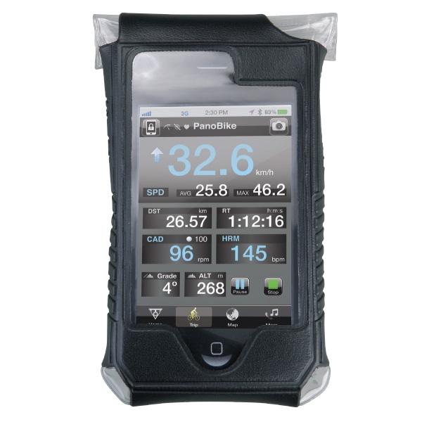 Housse étanche et support Topeak SmartPhone DryBag - Apple iPhone 4 & 4S (noir)