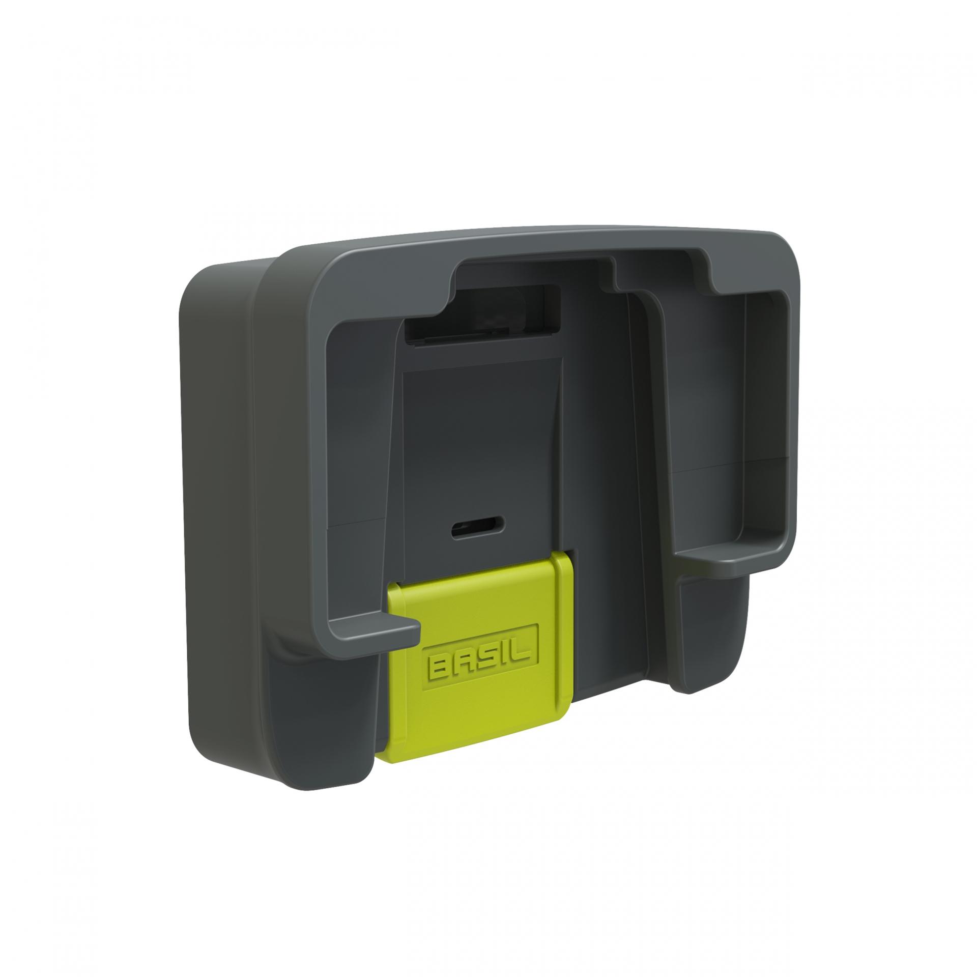 Adaptateur pour panier BASIL Compatible fixation KLICKfix-BASIL BasEasy (Plaque et contre-plaque)