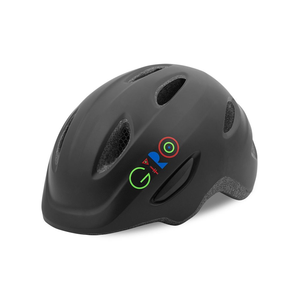 Casque Giro SCAMP Noir mat/Multicolore - 45/49 cm