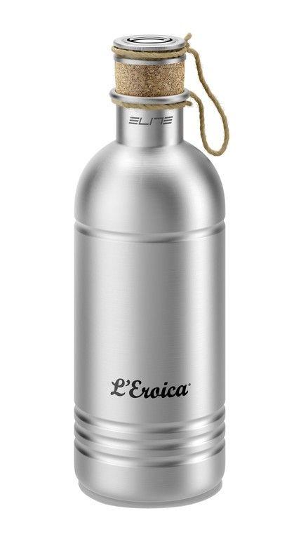 Bidon Elite L'Eroica aluminium 600 ml