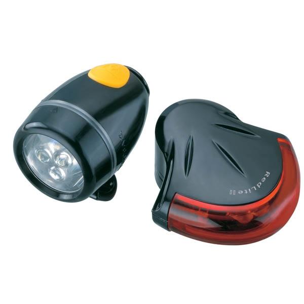 Éclairage AV+AR Topeak HighLite Combo II WhiteLite II + RedLite II Noir