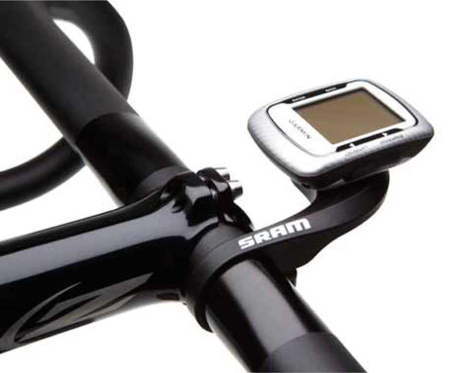 Fixation compteur GPS SRAM Road QuickView pour Garmin Edge