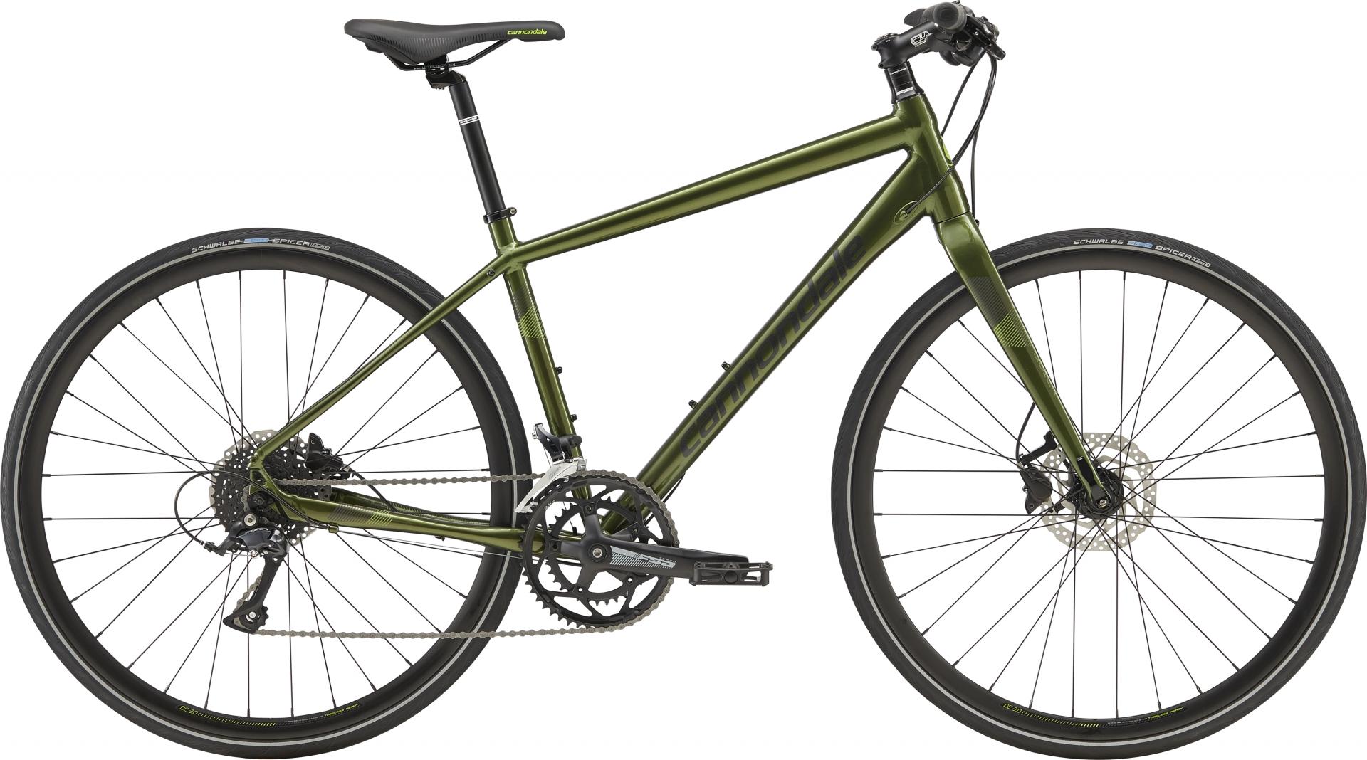Vélo fitness Cannondale Quick Disc 3 Noir Vert Vulcan/Noir - M